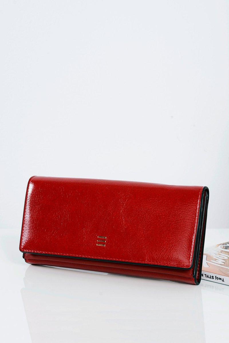 1c286185a30a7 Duży Damski Czerwony Modny Portfel   Bugo.pl > buty damskie