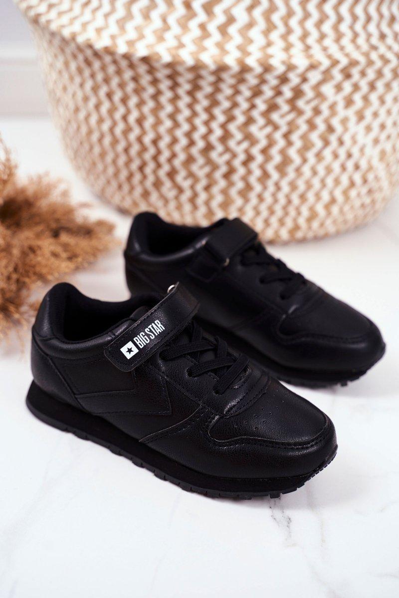 Sportowe Buty Dzieciece Big Star Na Rzepy Czarne Gg374059 Bugo Pl Buty Damskie